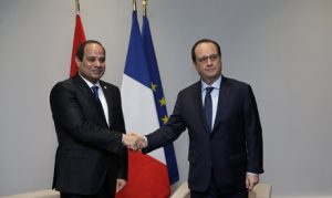 Hollande e al sisi