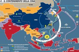 Guerra, contenimento Cina