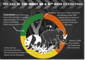 extinction rebellion estinzione di massa