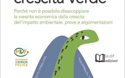 Presentazione del libro 'Il mito della Crescita Verde'
